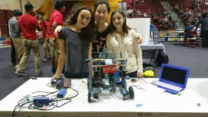 Palos Verdes Institute of Technology | PVIT - VEX students with robot